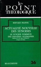 Actualite Nouvelle Des Synodes Le Synode Commun Des Dioceses Allemands (1971-197