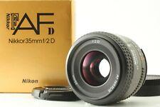 【 TOP MINT in BOX  】Nikon AF Nikkor 35mm f/2 D Wide Angle Lens From Japan #Nk644