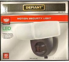Defiant 180 Degree Black Motion Activated Outdoor Integrated LED 1002366207