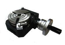 "Rdgtools 4""/100mm table rotative Hv4 ""hbm outils"" new horizontal/vertical"