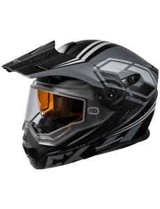 Castle X EXO-CX950 Siege Modular Snowmobile Helmet Matte Black/Charcoal