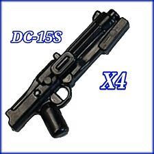 Custom Star Wars DC-15S (×4) Blaster Rifles for Lego minifigures
