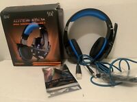 KOTION EACH Gaming Headset PS4, PC, Xbox One, Noise Canceling G9000