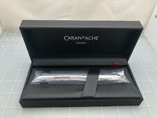 Judd's New in Box Caran d'Ache Ecridor Roller Yacht Club Silver Pen