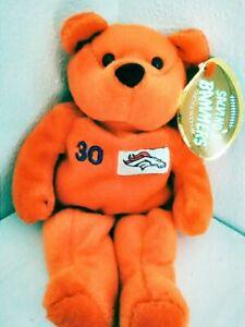 Salvino Bammers NFL TERRELL DAVIS Bean Bag Plush Stuffed Bear 1999 Quarterback