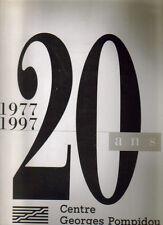 20 ans du Centre Pompidou 1997 , n° spécial magazine du centre , illustré Warhol