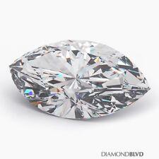 2.01 Carat K/SI1/Ex Cut Marquise Shape AGI Earth Mined Diamond 13.14x6.15x3.97mm
