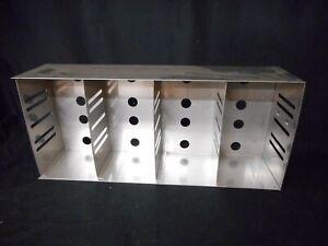 "THERMO SCIENTIFIC Revco SS 2-3"" Box Adjustable Upright Lab Freezer Rack 6113-1 B"