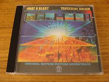 CD Album: Tangerine Dream : What A Blast : SIGNED Acrylic Case TDI Release