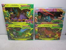 Teenage Mutant Ninja Turtles Cave-Turtle Set of 4 - Playmates 1992-1993 FS