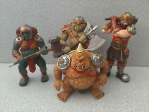 ELC Tower of Doom evil warriors & Mythical Monsters.