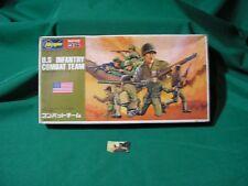 Soldatini Kit Montaggio Hasegawa U.S. Infantry Combat Team plastica 1:72