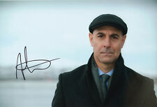 Stanley Tucci, American actor, Fortitude, signed 12x8 inch photo. COA. Proof.