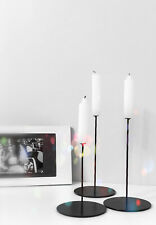 """Сandlestick Holder Stand """"Laconic"""" for candles handmade metal steel wire"""