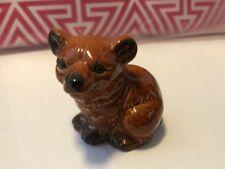 Goebel Small Baby Bear Cub Figurine West W Germany Brown Black 36 537 Vintage