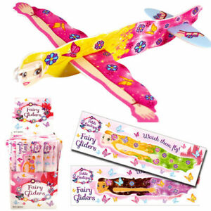6 x FAIRY GLIDERS Boys Girls Toys Gift Party Bag Stocking Pinata Filler