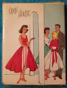 """12 Vintage American Greetings Open House Invitations Sealed Pack 3.5"""" × 4.5"""""""
