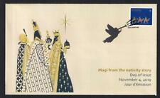 Canada 2019 limited edition FDC 'Christmas Magi', booklet P single