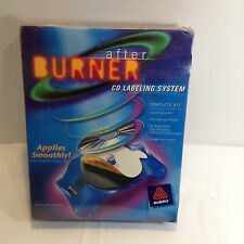 NEW Avery AfterBurner CD/DVD Labeling System Complete Kit