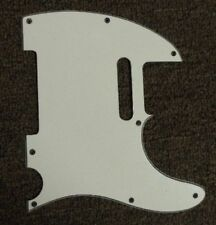 MIGHTY MITE GUITAR PICKGUARD in WHITE - WILL FIT A FENDER TELECASTER TELE
