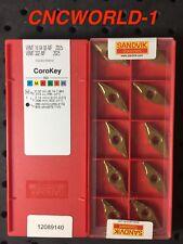 20 Pcs Sandvik VBMT ( 332-MF ) 160408-MF 2025 , 2 Box ! Original Sandvik !
