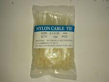 Surtek 114203 PACK OF 100 PZ Cable Tie Black 165 x 2.5mm