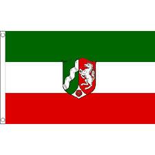 Nordrhein-Westfalen Flag 5Ft X 3Ft Germany German Region Banner With 2 Eyelets