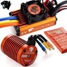 SKYRC 1:10 3930KV 10T 60A ESC RC Brushless Motor ESC Regler+Programmierkarte