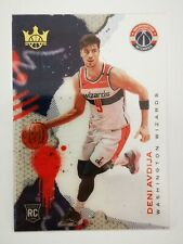 Panini Court Kings 2020-21 N31 NBA card Acetate RC #5 Deni Avdija Washington