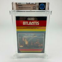 Atlantis - Atari 2600 BLACK Box Notch Lid Graded Factory Sealed 1982 WATA 9.4 A+