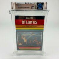 Atlantis - Atari 2600 BLACK Box Notch Lid Graded Factory Sealed 1982 WATA 9.4 A+