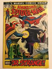 AMAZING SPIDER-MAN #109   DR STRANGE     VF/NM