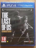 The Last of Us - Remastered For PS4 (New & Sealed)
