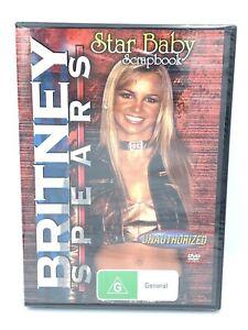 Britney Spears Star Baby Scrapbook -Rare DVD Aus Stock -Music New