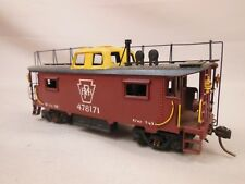 HO SCALE BRASS PENNSYLVANIA 478171 N-8 CABOOSE CAR BODY PAINTED