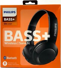 Philips SHB3075 Bass Plus On-Ear Supra Wireless Bluetooth Headphones - Black