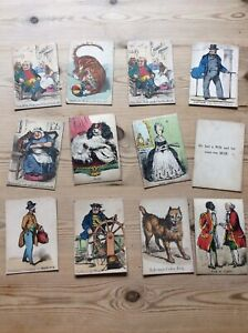Collection 12 Victorian Playing Cards