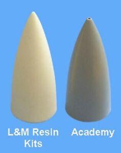 LM resin /48 + nose cone for Academy Su-27  + bonus