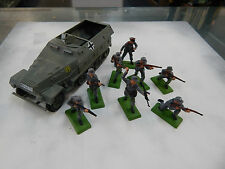 Airfix 1/32 scale German Half Track and Infantry by DSG