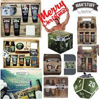 Technic Man'Stuff Men Toiletry Christmas Gift Sets Bath Body Advent Calendar Box