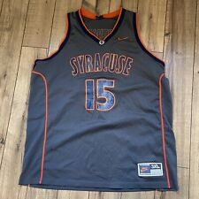 Vintage Syracuse University Carmelo Anthony Nike Jersey 3XL Rare Swingman Sewn