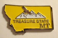 MONTANA Mountains TREASURE STATE Souvenir LAPEL PIN