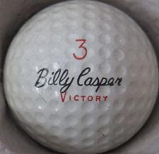 (1) BILLY CASPER VICTORY SIGNATURE LOGO GOLF BALL (CIR 1970) #3