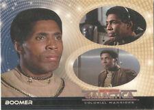 "Battlestar Galactica Colonial Warriors - ""Boomer"" Promo Card # UK"