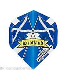 2 SETS OF SCOTTISH FLAGS DART FLIGHTS