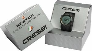 Cressi Newton, Titanium Dive Computer Watch Blue