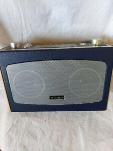 Roberts RD-11 DAB FM Radio Pause Plus Rewind Blue And Pine