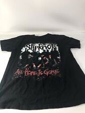 Vintage SLIPKNOT All Hope Is Gone No Size Medium ?Tag Black T Shirt