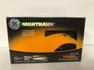 Headlight Bulb-Nighthawk Boxed GE LIGHTING H4666NH