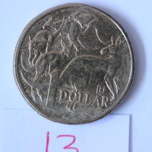 2019 Australian $1 Dollar Coin 'U' Privy Mark RABBIT EAR CUD ERROR (CR/A22)